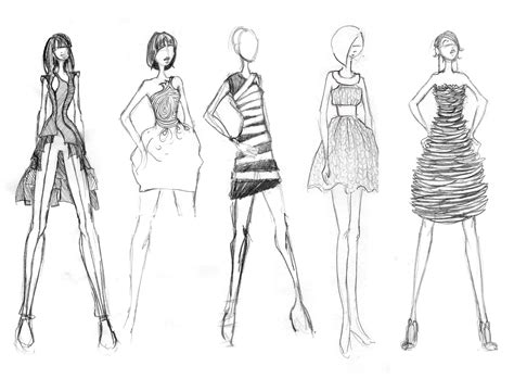 Sketches Clothes by 7 Steps To Create Your Own Fashion Line