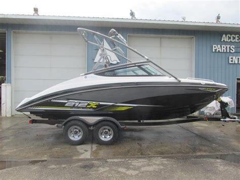 jet boats for sale mi 2016 new yamaha 212x jet boat for sale 49 499 lansing