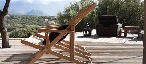 sedia sdraio da giardino sdraio da giardino e mare di design unopi 249