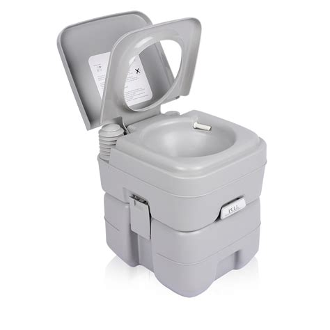 indoor portable toilet 5 gallon 20l portable toilet flush travel c outdoor