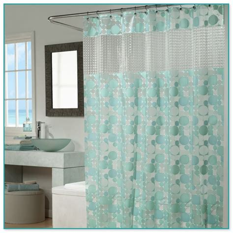 fabric clear top shower curtain shower curtain with clear view top curtain menzilperde net
