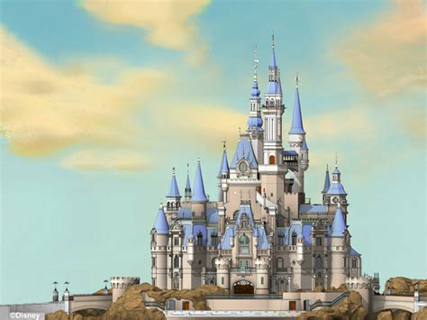 disney shanghai enchanted storybook castle shanghai disneyland final