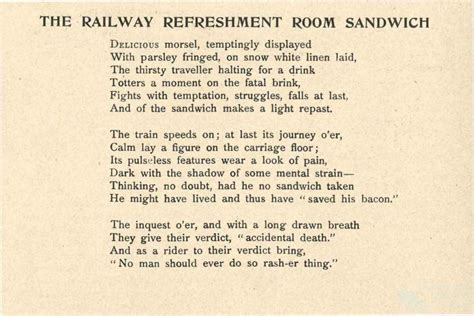 poems about bedrooms poems about bedrooms the railway refreshment room sandwich