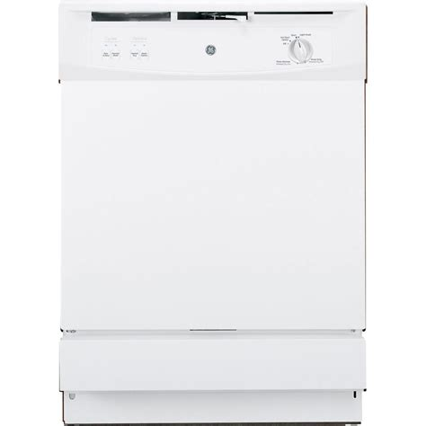 Ge The Sink Dishwasher by Ge Front The Sink Dishwasher In White