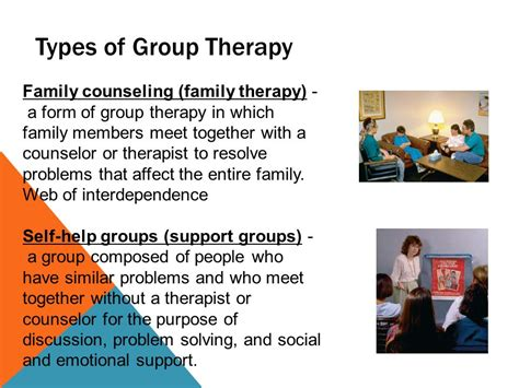 purpose of therapy psychological therapies ppt