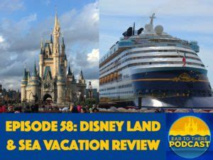 episode 58 disney land sea vacation review ear to there travelear to there travel