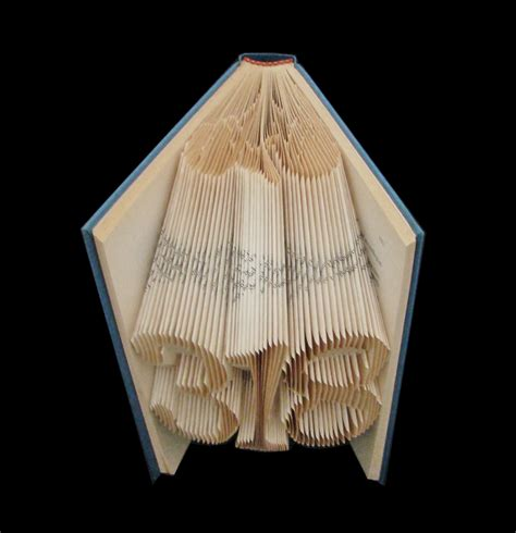 Origami Book Fold - folded books
