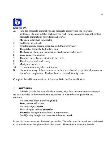 Predicate Nominative Worksheet by Predicate Nominative Worksheet Worksheets Releaseboard