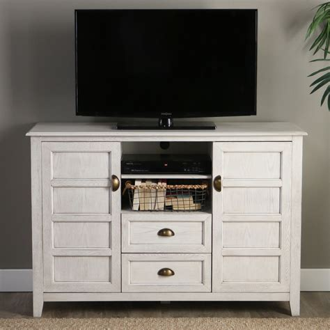 Angelo Home Rustic Chic 52 Inch Tv Console Angelo Home 52 Quot Rustic Chic Tv Console White Wash