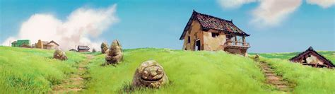 house on the hill desktop wallpaper spirited away backgrounds wallpaper cave