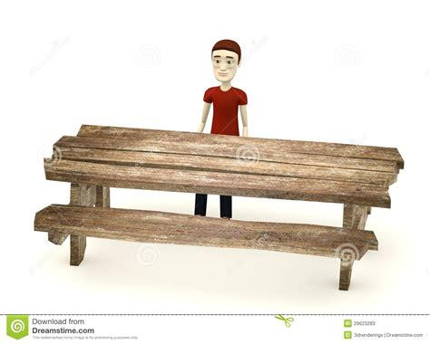 cartoon boy sit behind table stock photos image 29623283