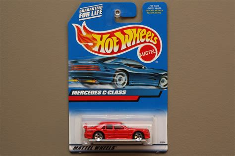 Hotwheels Mercedes C Class wheels 2000 collector series mercedes c class