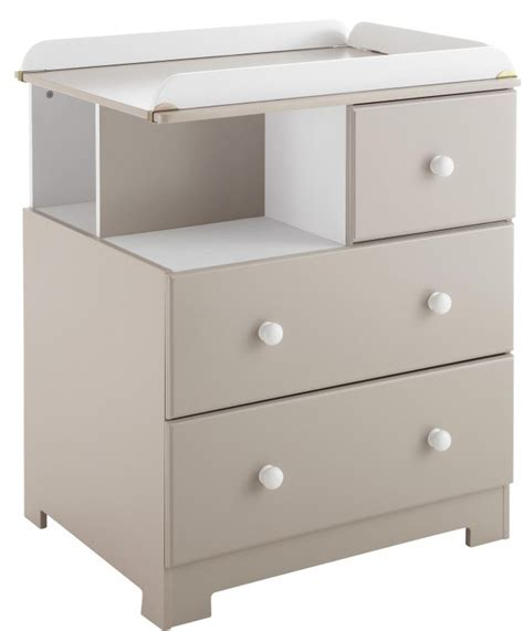 Commode A Langer Taupe by Commode 224 Langer Taupe Et Blanche Bali Lestendances Fr
