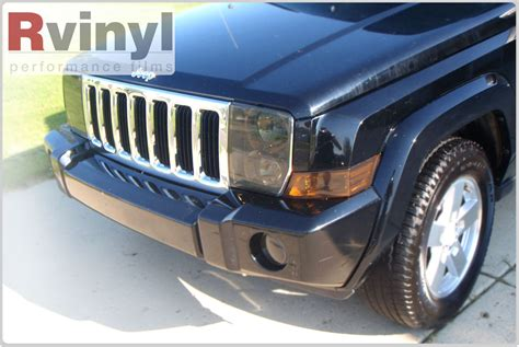 2006 Jeep Commander Headlights Pro Precut Smoke Headlight Tint Kit Jeep Commander