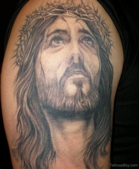 jesus face tattoos jesus tattoos designs pictures page 10