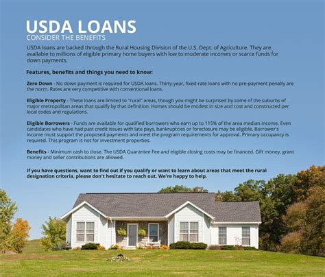 usda loan benefits columbia mo usa mortgage