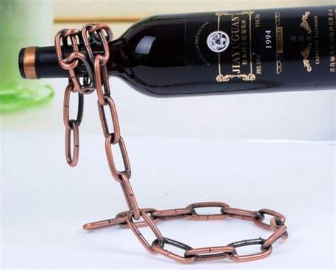 Rak Rantai Anggur Creative Suspension Chain Wine Rack Silver creative suspension chain wine rack rak rantai anggur bronze jakartanotebook