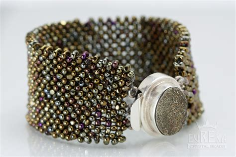 how to put a clasp on a beaded necklace right angle weave made easy 2015 eureka