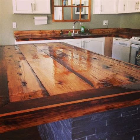 homemade bar tops top 28 rustic counter tops rustic wood countertop
