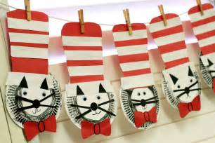 Dr seuss crafts for preschoolers cute hundred chart idea came from