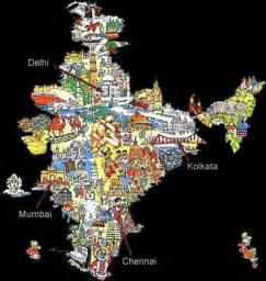 India Religion Map by Chw3m World History