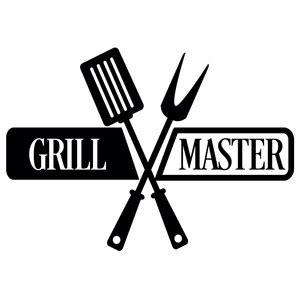 silhouette design store view design #133772: grill master