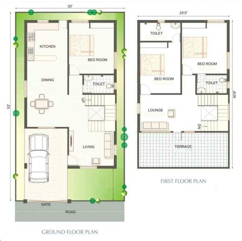 Duplex Home Plans by Duplex House Plans India 900 Sq Ft Projetos At 233 100 M2