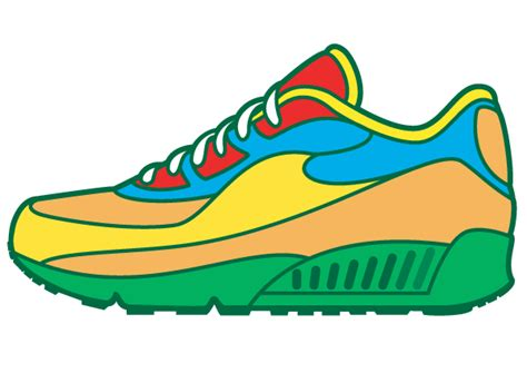 sneaker vector art 123freevectors