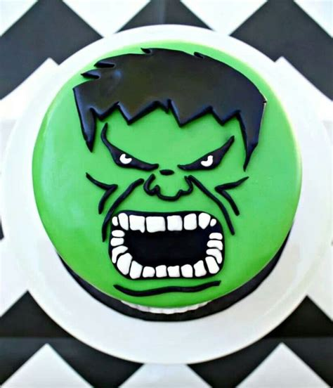 hulk birthday cake drew bday pinterest birthday