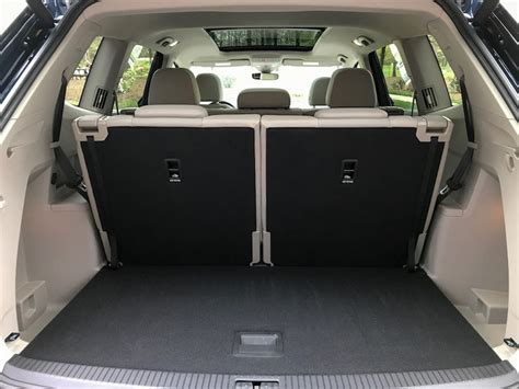 volkswagen atlas trunk first look at the volkswagen atlas you know you want to