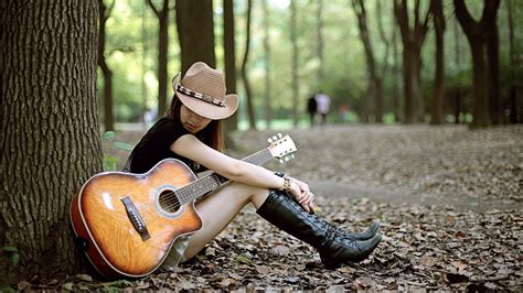 wallpaper guitar couple wallpapers girl with guitar hd download