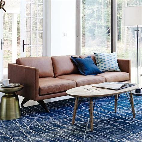 quality of west elm sofas west elm leather sofa quality memsaheb net