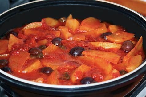 cucinare lo stocco stoccafisso e patate in tajine la cucina di claudio