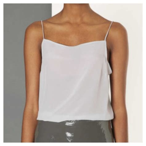Topshop Sale Up Some Camisoles by 80 Topshop Tops 18 Sale Crop Top Silk Cami