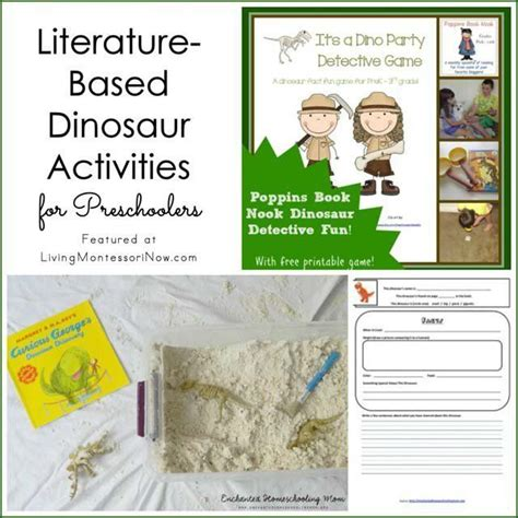 themes in literature games 10 best images about dinosaur theme activities for kids on
