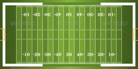 football field template for powerpoint sideline images