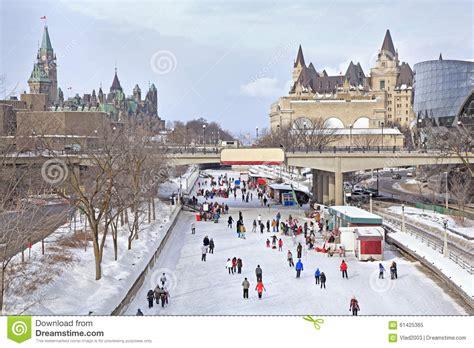Canal Rideau Patinage by Piste De Patinage De Canal De Rideau En Hiver Ottawa