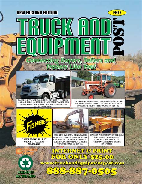 truck and equipment post of new issue 44 45 by