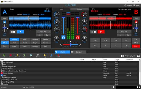 dj mix dj music mixer download professional dj mp3 audio mixing