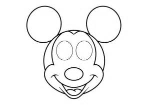 mickey mouse mask printable free printing thinking mice masks mouse mask
