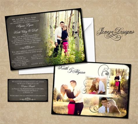 wedding invitation templates photoshop wedding invitation photoshop template for photographers