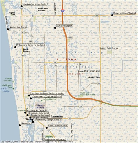 naples florida map naples florida attractions map find sights things to do from southwest florida traveler