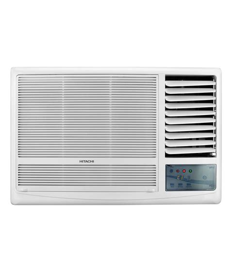 hitachi ac hitachi 1 5 ton 5 star kaze plus raw518kudz1 window air conditioner available at snapdeal for rs