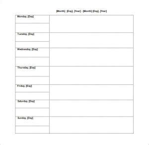 Editable Cleaning Schedule Template Template Business Editable Cleaning Schedule Template