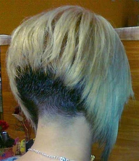 Short Stacked Bob Haircut Shaved | 25 pics of bob hairstyles short hairstyles 2016 2017