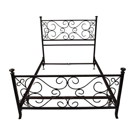 Used Metal Bed Frame 69 Black Scrolled Metal Bed Frame Beds