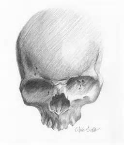 skull sketch by sabre art on deviantart
