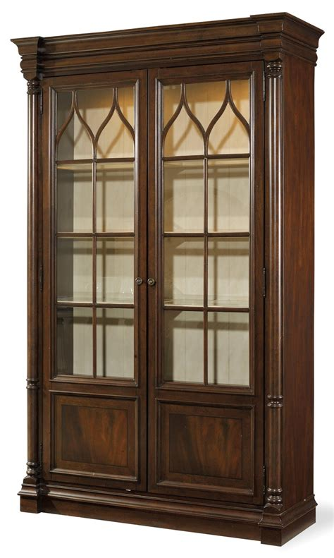 Mahogany Dining Room Display Cabinets Furniture Leesburg Display Cabinet In Mahogany 5381