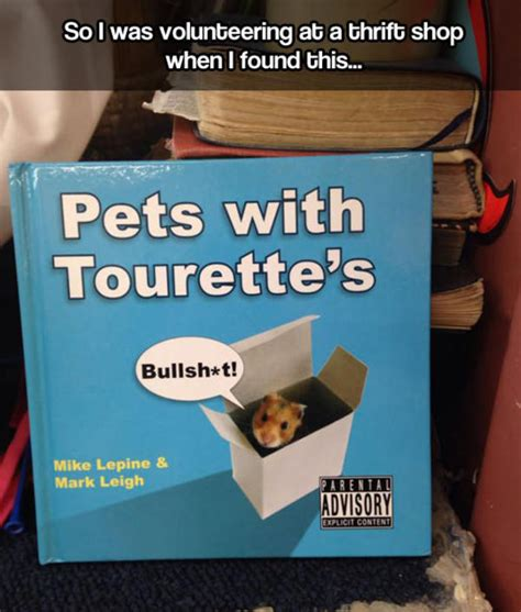 Tourettes Meme - pets with tourette s book tourette s guy know your meme
