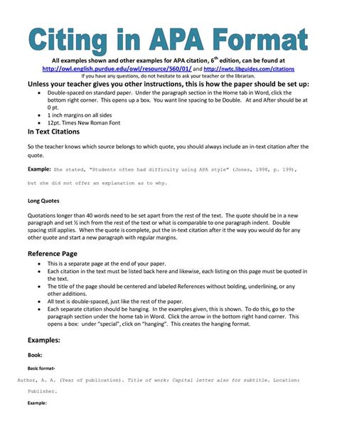 Apa Style Essay Paper by Best 25 Apa Exle Ideas On Apa Format Exle Apa Style Paper And Apa Format